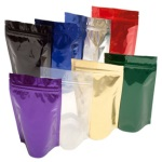 Coffee Bags - Stand Up Foil Coffee Pouch 1oz Zip